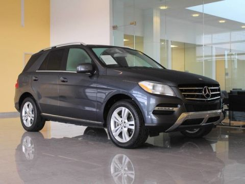 Certified Pre-Owned 2015 Mercedes-Benz M-Class ML350 Rear Wheel Drive SUV