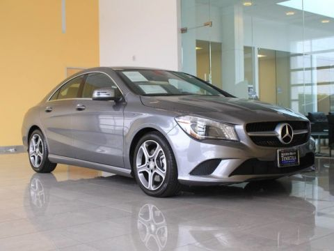 Certified Pre-Owned 2014 Mercedes-Benz CLA 250 Front Wheel Drive Coupe