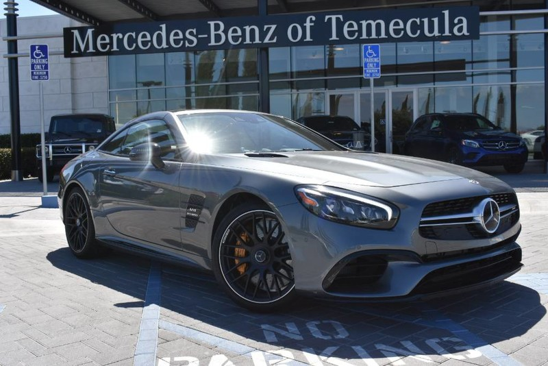 New Mercedes Benz >> New 2019 Mercedes Benz Amg Sl 63 Rear Wheel Drive Convertible