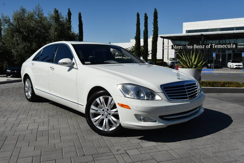 Pre-Owned 2009 Mercedes-Benz S-Class 5.5L V8