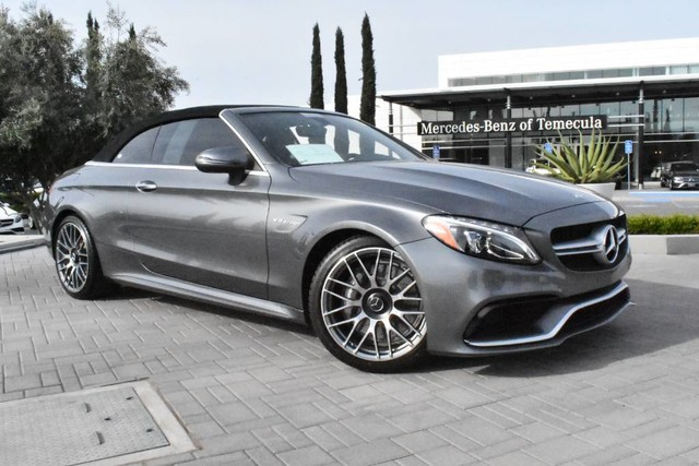 Pre-Owned 2017 Mercedes-Benz C-Class AMG® C 63
