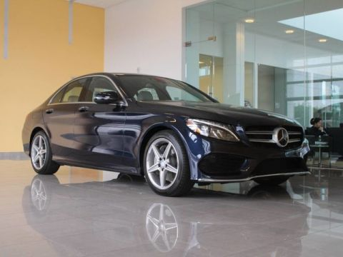 Pre-Owned 2017 Mercedes-Benz C 300 Sport Sedan