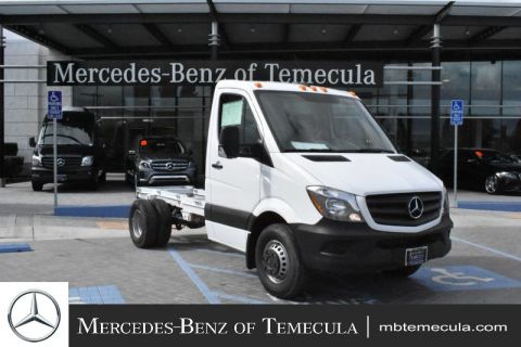 New 2018 Mercedes-Benz Sprinter Cab Chassis