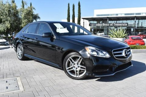 Certified Pre Owned 2016 Mercedes Benz E Cl 350 Luxury