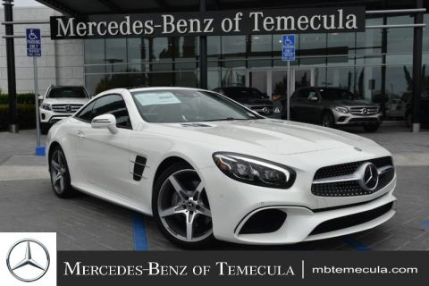 Pre-Owned 2018 Mercedes-Benz SL-Class SL 550