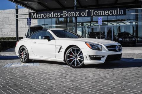 Pre-Owned 2016 Mercedes-Benz SL-Class AMG® SL 63