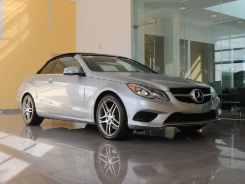 Certified Pre-Owned 2015 Mercedes-Benz E 400 Sport Convertible
