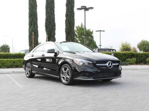 Pre-Owned 2018 Mercedes-Benz CLA 250 Coupe